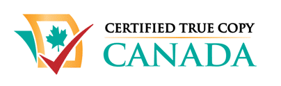 Certified True Copy Canada Logo